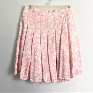 3/$25 Old Navy Pink and White Full Skirt XS